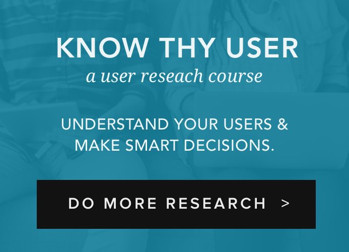 User Research Fundamentals - An Online UX Course