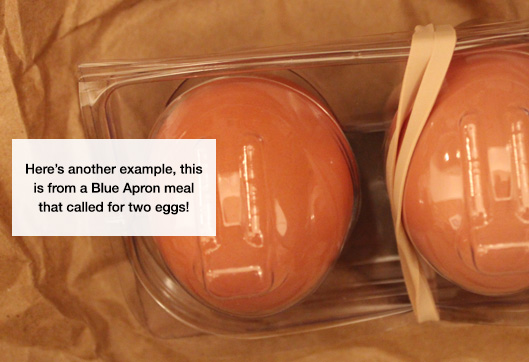 Blue Apron Eggs Packaging