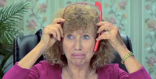 Elders React To Google Glass Video