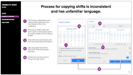 UX Audit Example: Sarah Doody