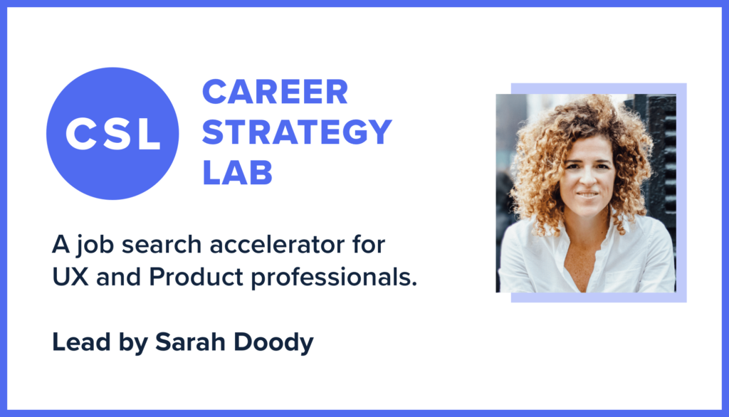 Apply To Join Career Strategy Lab